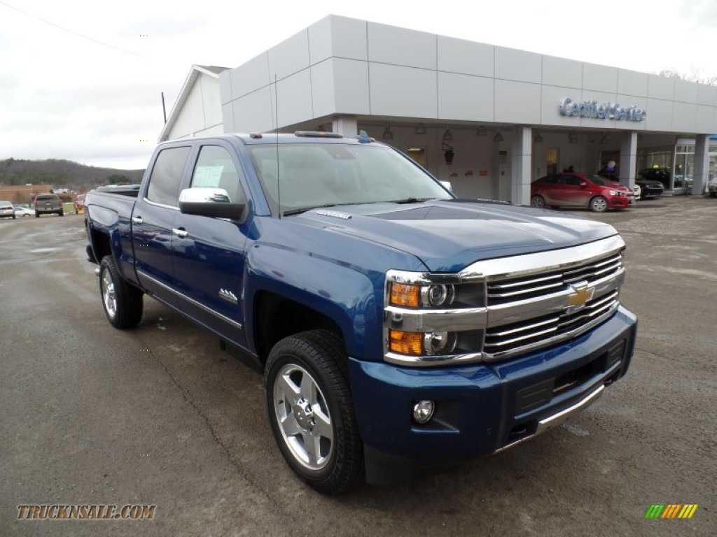 2015 chevrolet silverado 2500hd high country crew cab 4x4 in deep ocean blue metallic photo 4. Black Bedroom Furniture Sets. Home Design Ideas