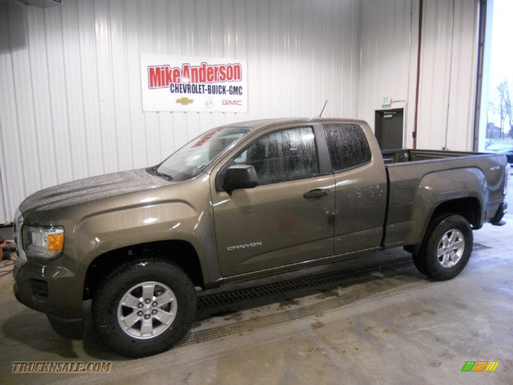 2015 Gmc Canyon Extended Cab 4x4 In Bronze Alloy Metallic Photo 6 154907 Truck N Sale