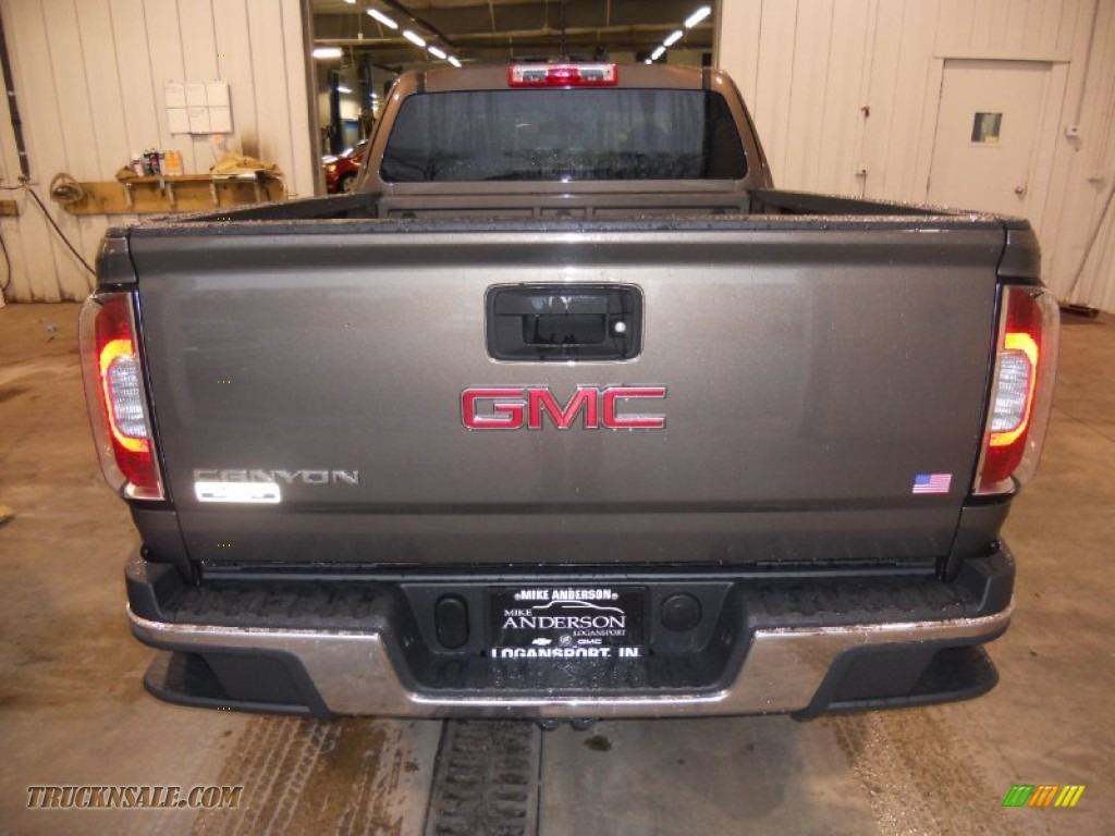 2015 gmc canyon extended cab 4x4 in bronze alloy metallic photo 3 154907 truck n 39 sale. Black Bedroom Furniture Sets. Home Design Ideas