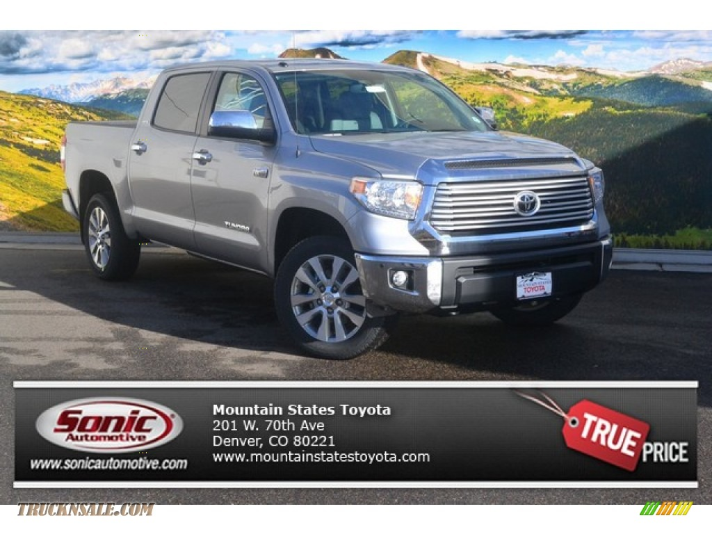 2015 toyota tundra limited crewmax 4x4 in silver sky metallic 439833 truck n 39 sale. Black Bedroom Furniture Sets. Home Design Ideas