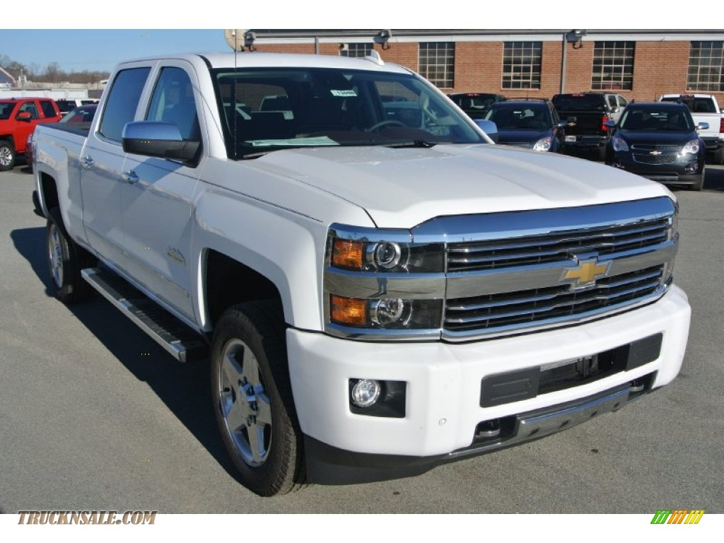 2015 chevrolet silverado 2500hd high country crew cab 4x4 in summit white 532618 truck n 39 sale. Black Bedroom Furniture Sets. Home Design Ideas