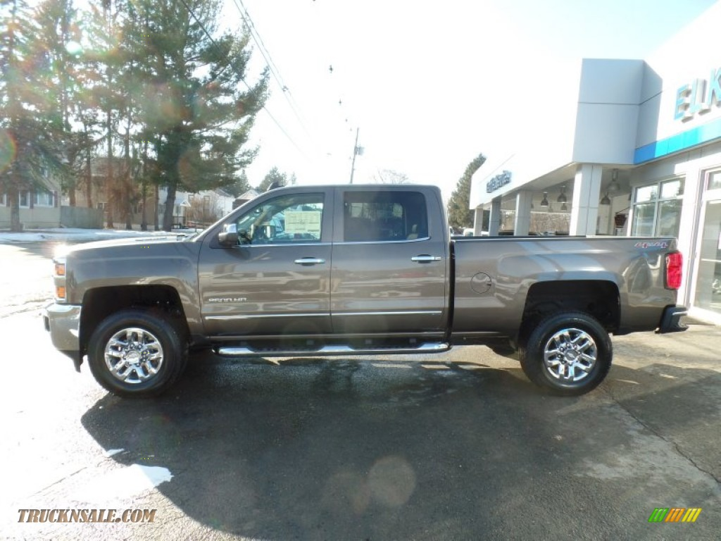 2015 chevrolet silverado 2500hd ltz crew cab 4x4 in brownstone metallic 544523 truck n 39 sale. Black Bedroom Furniture Sets. Home Design Ideas