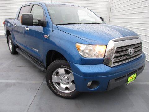 Blue Streak Metallic 2007 Toyota Tundra Limited CrewMax 4x4