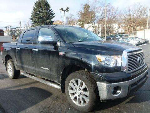 Black 2011 Toyota Tundra Limited CrewMax 4x4