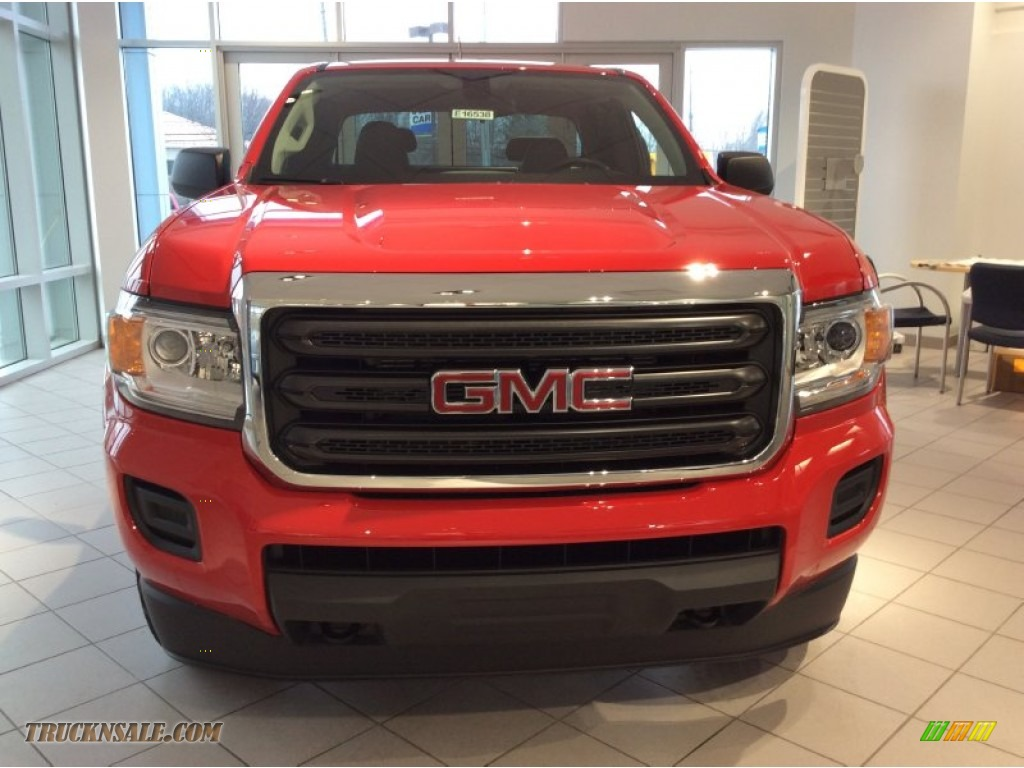 2015 gmc canyon extended cab 4x4 in cardinal red photo 2 156549 truck n 39 sale. Black Bedroom Furniture Sets. Home Design Ideas