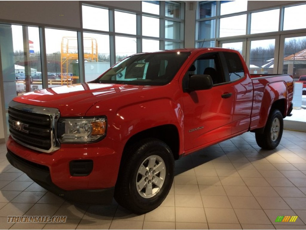 2015 gmc canyon extended cab 4x4 in cardinal red photo 3 156549 truck n 39 sale. Black Bedroom Furniture Sets. Home Design Ideas