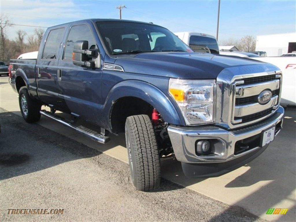 2015 ford f250 super duty xlt crew cab 4x4 in blue jeans c51650 truck n 39 sale. Black Bedroom Furniture Sets. Home Design Ideas