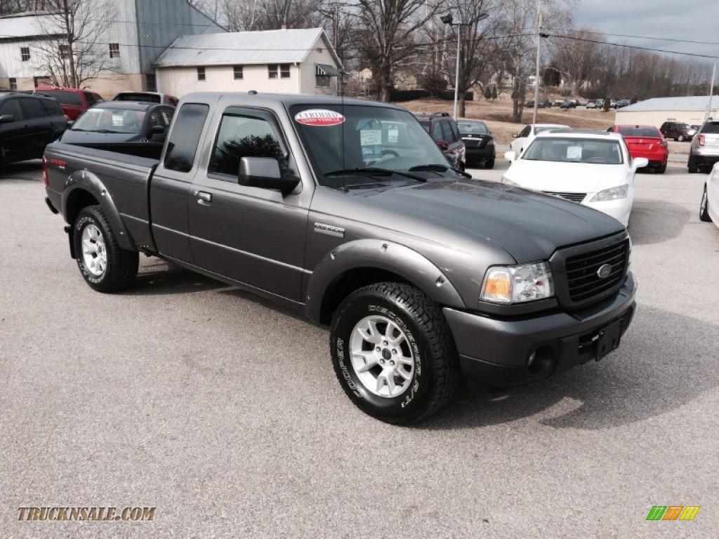 2009 Ford Ranger Sport Supercab 4x4 In Dark Shadow Grey