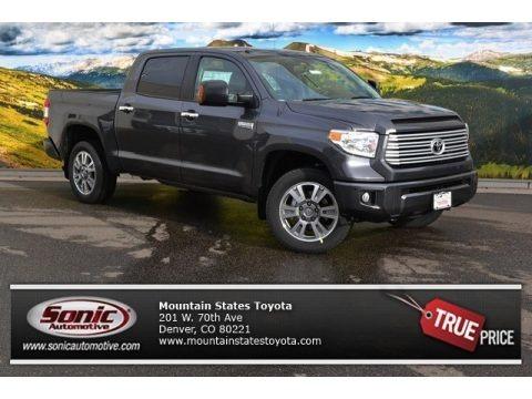 Magnetic Gray Metallic 2015 Toyota Tundra Platinum CrewMax 4x4