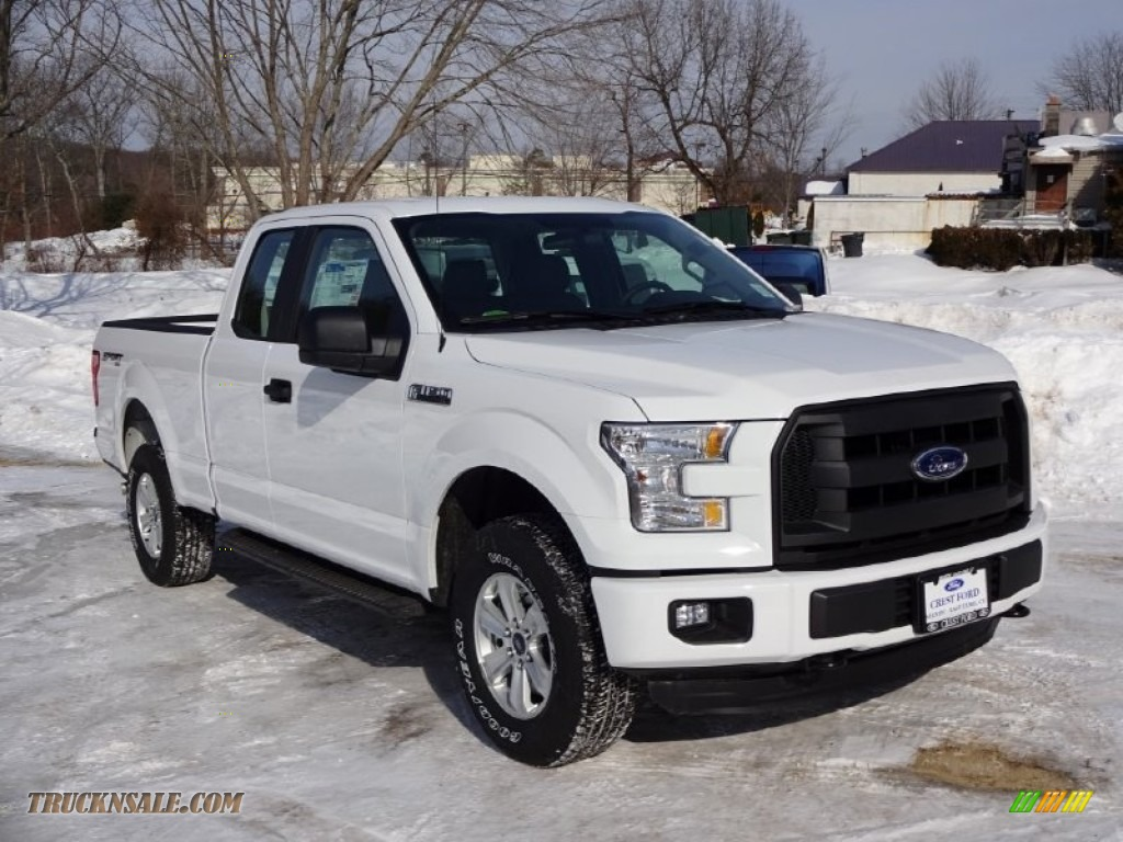 2015 ford f150 xl supercab 4x4 in oxford white a27373 truck n 39 sale. Black Bedroom Furniture Sets. Home Design Ideas