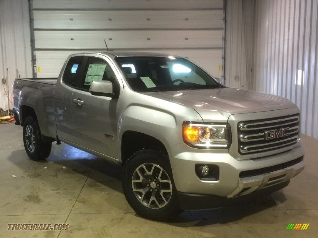 2015 gmc canyon sle extended cab 4x4 in quicksilver metallic photo 20 175572 truck n 39 sale. Black Bedroom Furniture Sets. Home Design Ideas