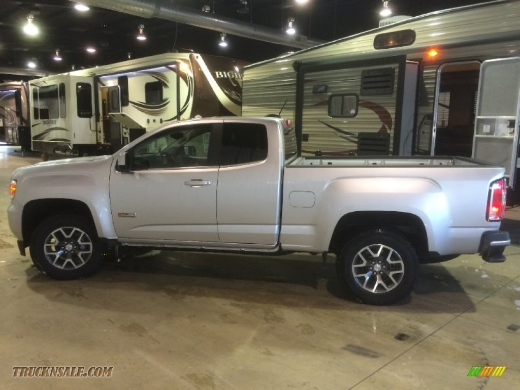 2015 gmc canyon sle extended cab 4x4 in quicksilver metallic photo 3 175572 truck n 39 sale. Black Bedroom Furniture Sets. Home Design Ideas