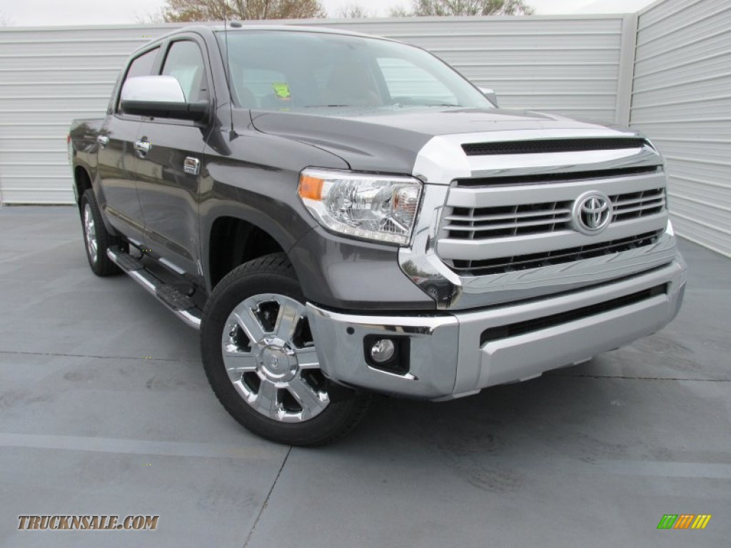 2015 toyota tundra 1794 edition crewmax 4x4 in magnetic gray metallic 448979 truck n 39 sale. Black Bedroom Furniture Sets. Home Design Ideas
