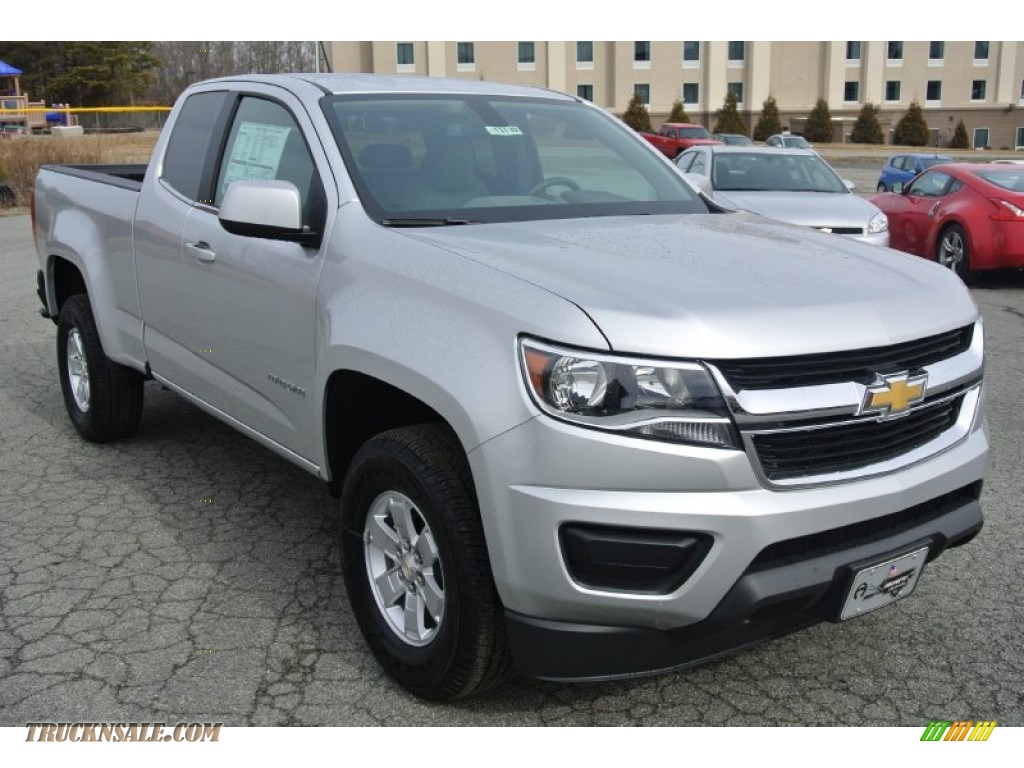 Pine Belt Cadillac >> 2015 Chevrolet Colorado WT Extended Cab in Silver Ice ...