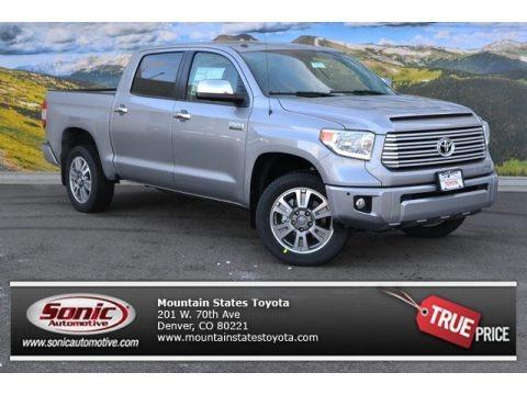 Silver Sky Metallic 2015 Toyota Tundra Platinum CrewMax 4x4