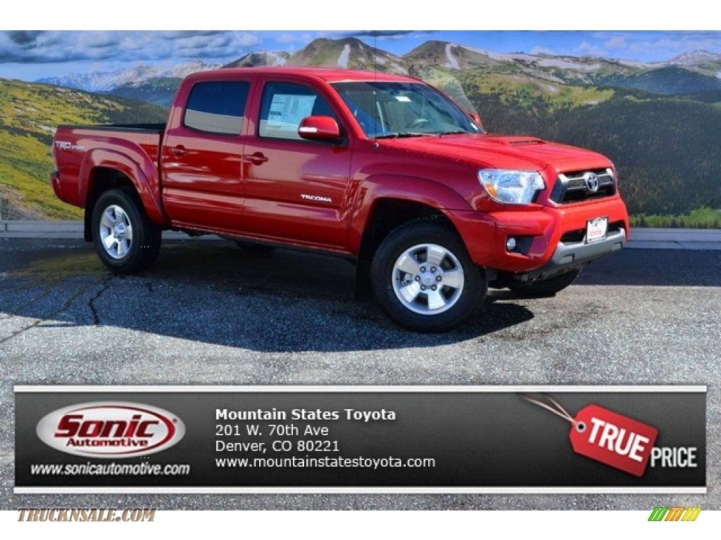 2015 Toyota Tacoma Trd Sport Double Cab 4x4 In Barcelona