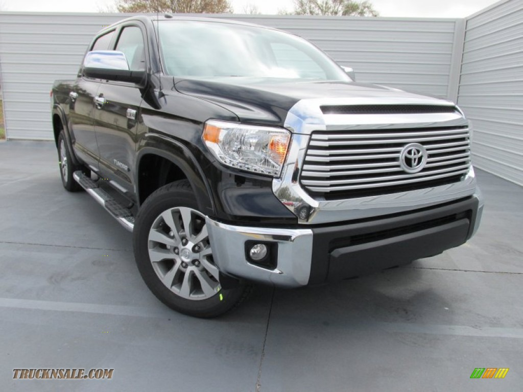2015 toyota tundra limited crewmax in attitude black metallic 182763 truck n 39 sale. Black Bedroom Furniture Sets. Home Design Ideas