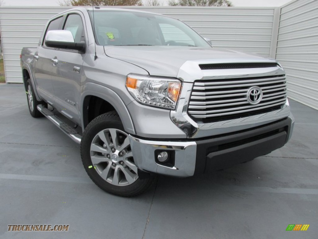 2015 toyota tundra limited crewmax in silver sky metallic 182497 truck n 39 sale. Black Bedroom Furniture Sets. Home Design Ideas