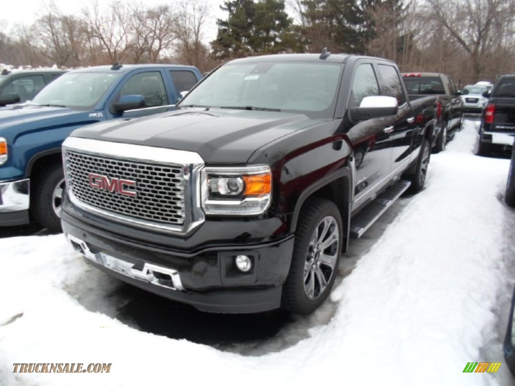 2015 gmc sierra 1500 denali crew cab 4x4 in onyx black 196715 truck n 39 sale. Black Bedroom Furniture Sets. Home Design Ideas