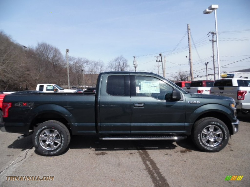 2015 Ford F 150 Platinum For Sale >> 2015 Ford F150 XLT SuperCab 4x4 in Guard Metallic - A19371