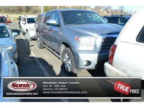 Silver Sky Metallic 2007 Toyota Tundra Limited CrewMax 4x4