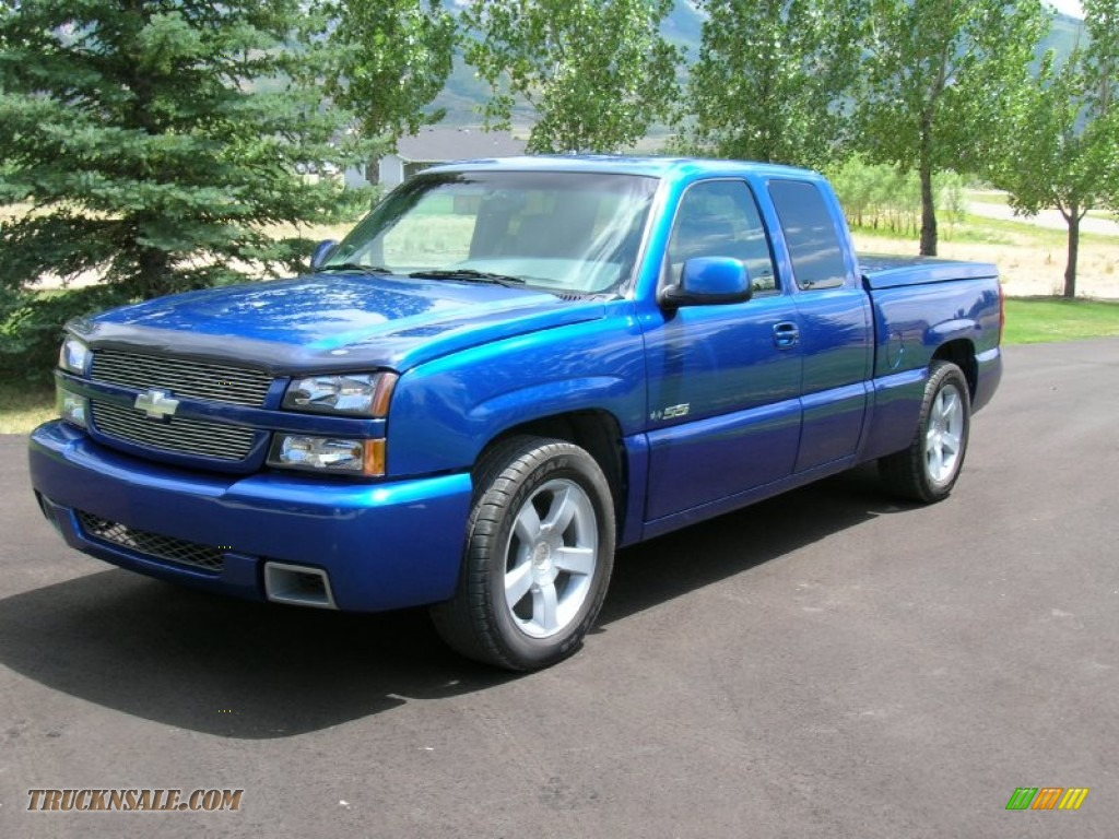 2003 Chevrolet Silverado 1500 Ss Extended Cab Awd In