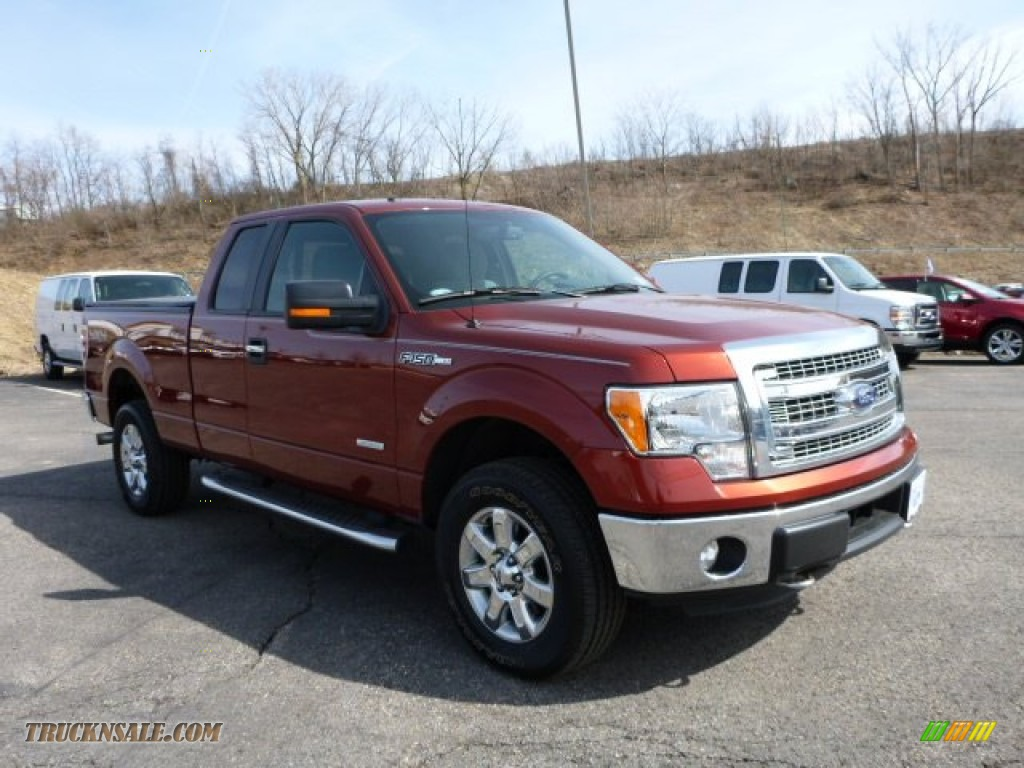2014 ford f150 xlt supercab 4x4 in sunset d36741 truck n 39 sale. Black Bedroom Furniture Sets. Home Design Ideas