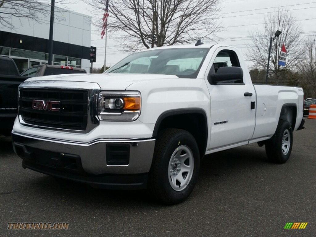 2015 gmc sierra 1500 regular cab 4x4 in summit white 262329 truck n 39 sale. Black Bedroom Furniture Sets. Home Design Ideas