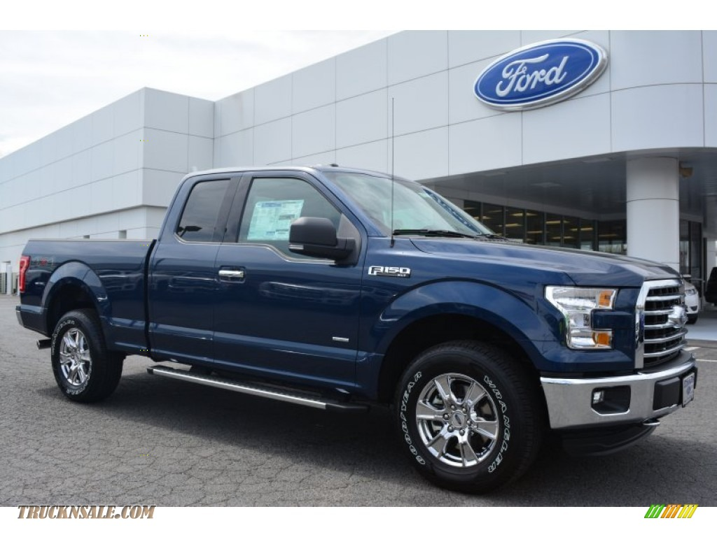 2015 ford f150 xlt supercab 4x4 in blue jeans metallic a85443 truck n 39 sale. Black Bedroom Furniture Sets. Home Design Ideas