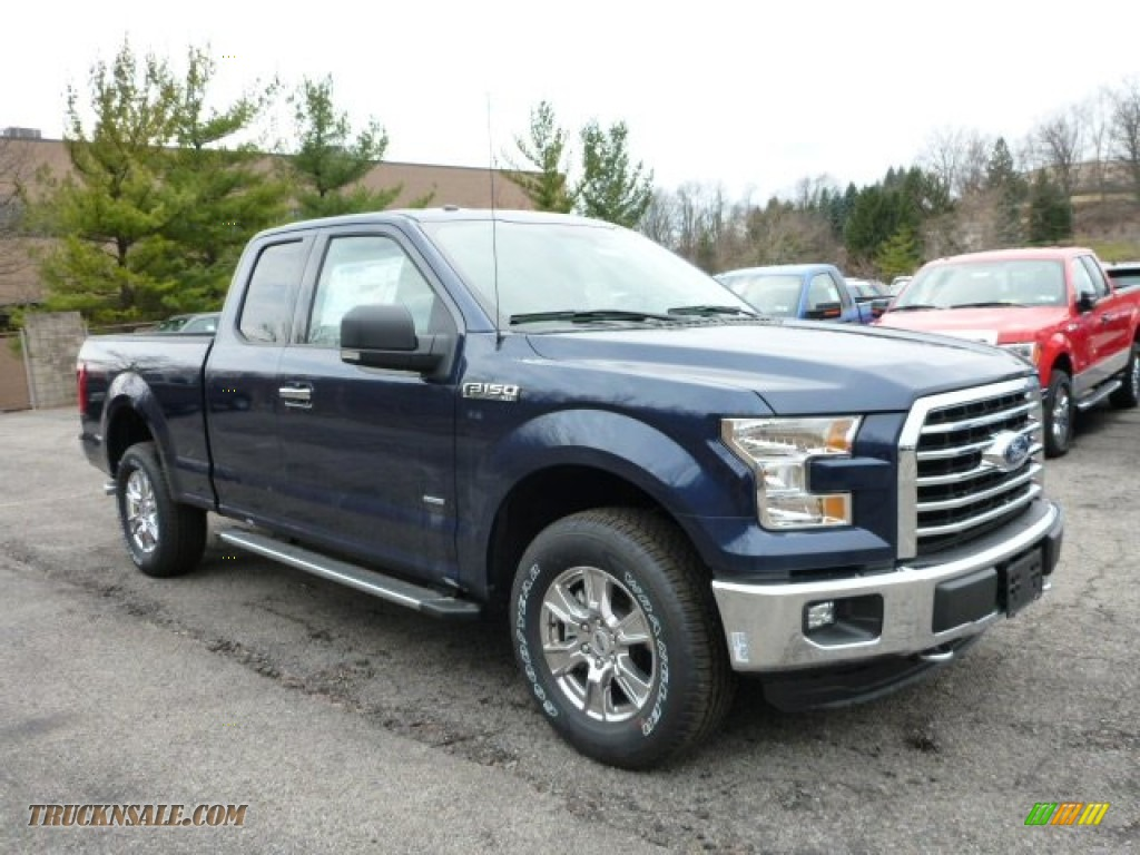 ford  xlt supercab   blue jeans metallic  truck  sale
