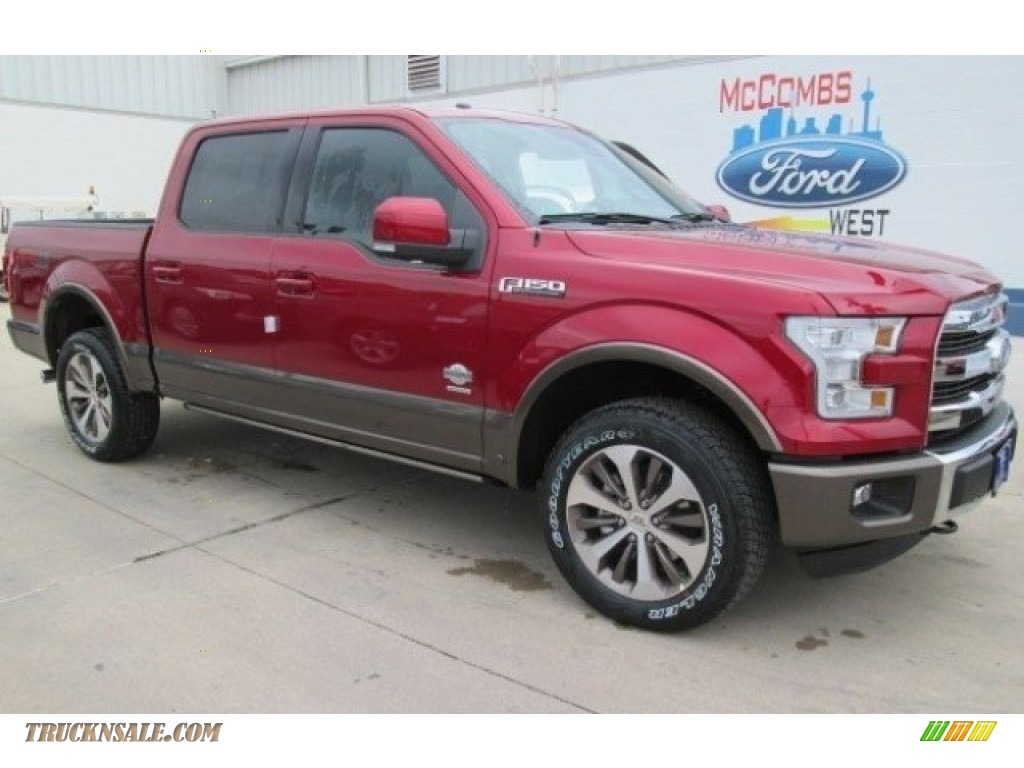 2015 ford f150 king ranch supercrew 4x4 in ruby red metallic photo 37 b06377 truck n 39 sale. Black Bedroom Furniture Sets. Home Design Ideas