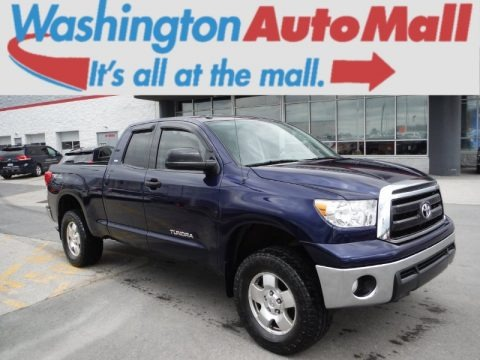 Nautical Blue 2011 Toyota Tundra TRD Double Cab 4x4