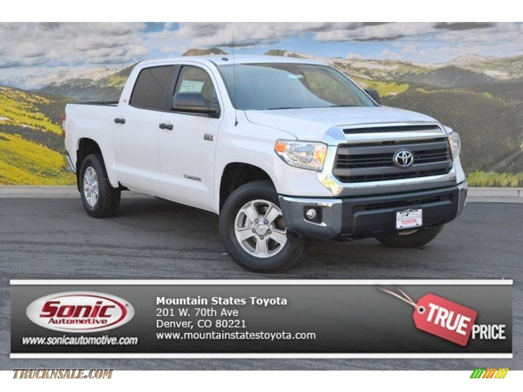 2015 toyota tundra sr5 crewmax 4x4 in super white 457832 truck n 39 sale. Black Bedroom Furniture Sets. Home Design Ideas