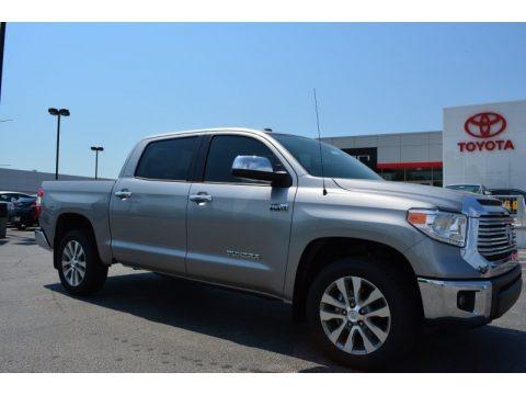 Silver Sky Metallic 2015 Toyota Tundra Limited CrewMax