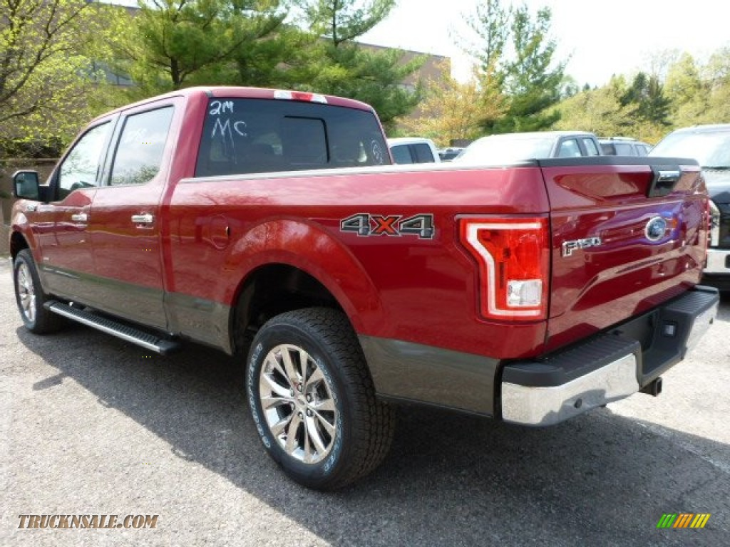 2015 Ford F150 Xlt Supercrew 4x4 In Ruby Red Metallic