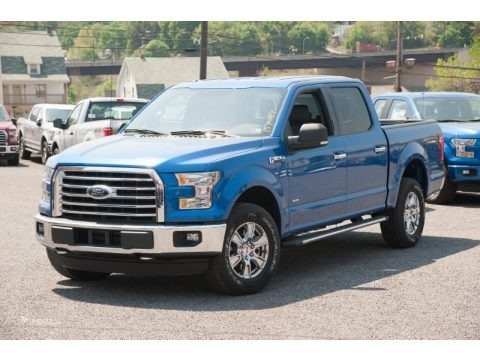 Blue Flame Metallic 2015 Ford F150 XLT SuperCrew 4x4