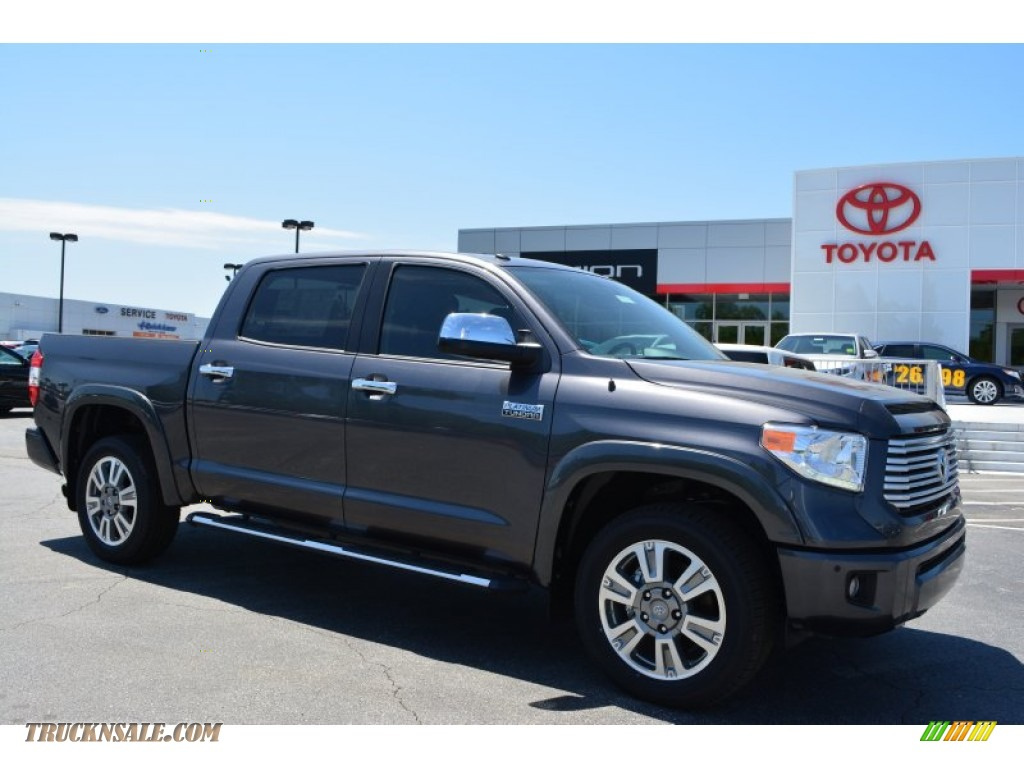 2015 Toyota Tundra Platinum Crewmax In Magnetic Gray