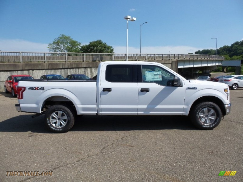 2015 Ford F150 Xlt Supercrew 4x4 In Oxford White D40331