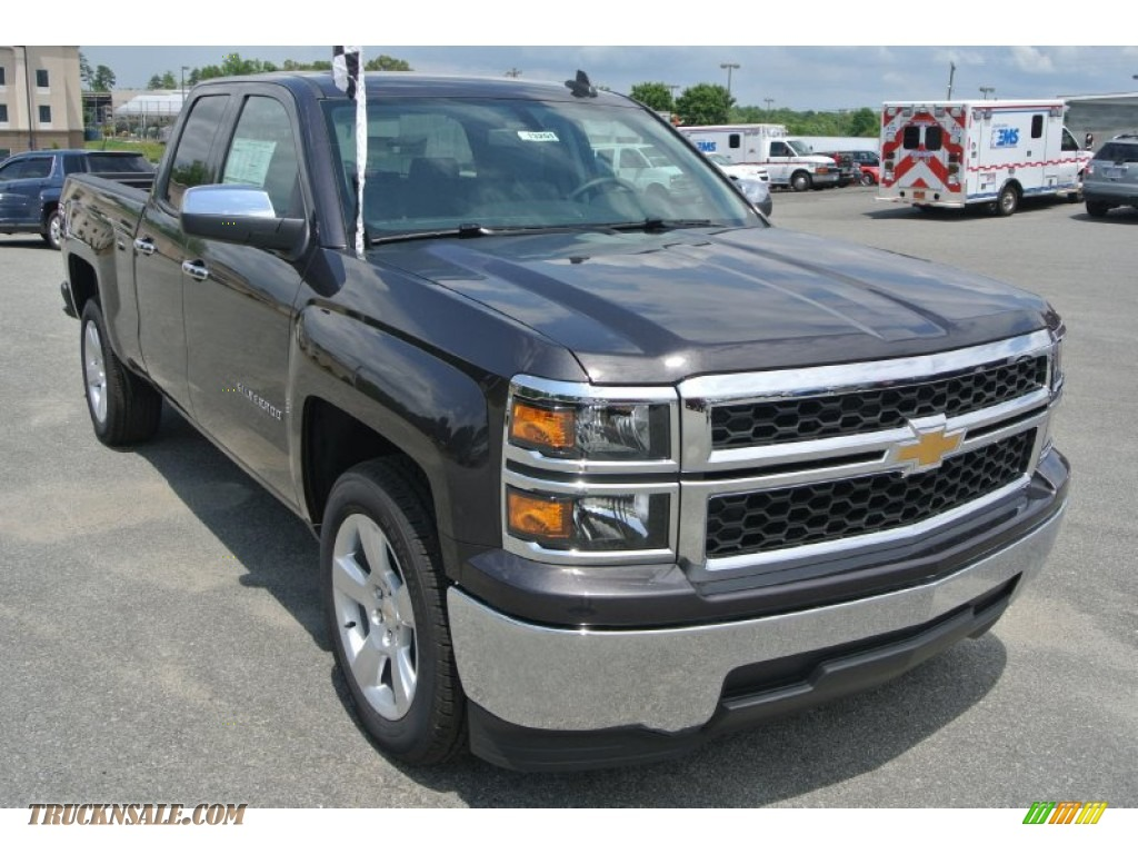 2015 chevrolet silverado 1500 wt double cab in tungsten metallic 325466 truck n 39 sale. Black Bedroom Furniture Sets. Home Design Ideas