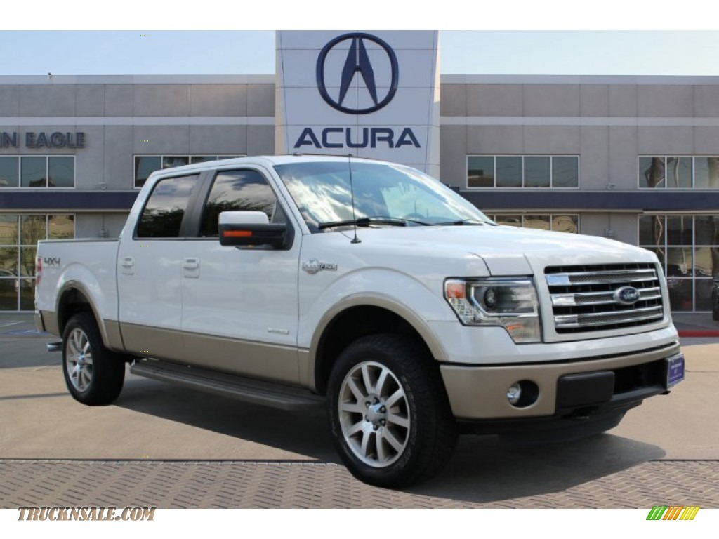 2013 Ford F150 King Ranch Supercrew 4x4 In Oxford White