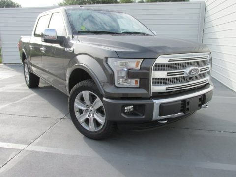 Magnetic Metallic 2015 Ford F150 Platinum SuperCrew 4x4