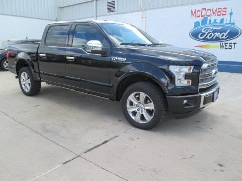 Tuxedo Black Metallic 2015 Ford F150 Platinum SuperCrew 4x4
