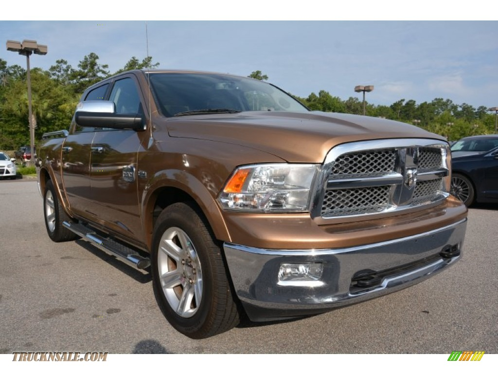 2012 Dodge Ram 1500 Laramie Longhorn Crew Cab In Saddle