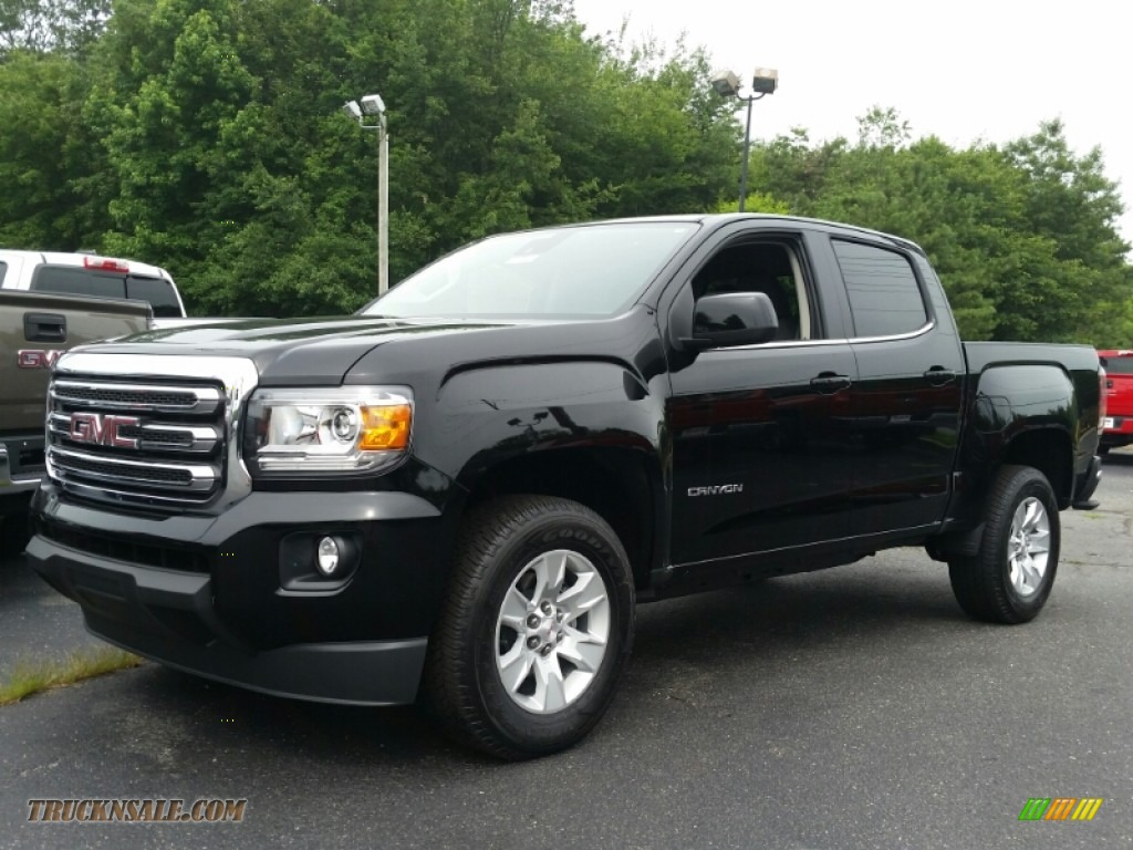 2015 Gmc Canyon Sle Crew Cab In Onyx Black 218717