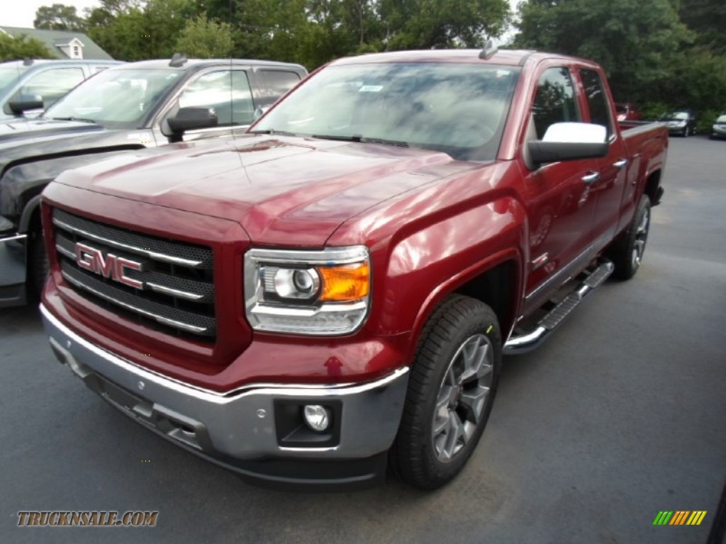 2015 gmc sierra 1500 slt double cab 4x4 in sonoma red metallic