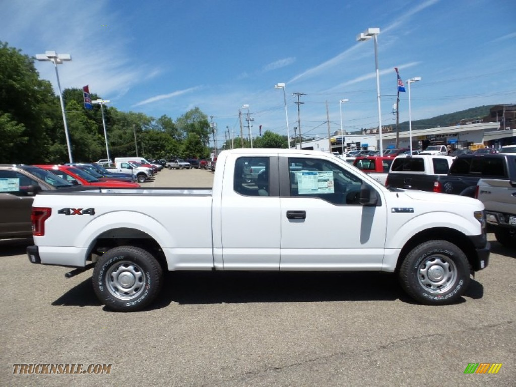 2015 ford f150 xl supercab 4x4 in oxford white c05081 truck n 39 sale. Black Bedroom Furniture Sets. Home Design Ideas
