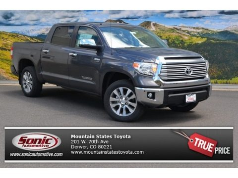 Magnetic Gray Metallic 2015 Toyota Tundra Limited CrewMax 4x4