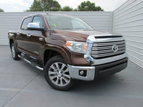 Sunset Bronze Mica 2015 Toyota Tundra Limited CrewMax 4x4