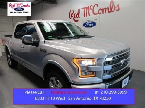 Ingot Silver Metallic 2015 Ford F150 Platinum SuperCrew 4x4