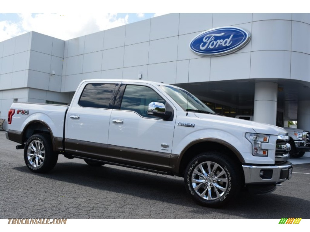 2015 ford f150 king ranch supercrew 4x4 in oxford white c57870 truck n 39 sale. Black Bedroom Furniture Sets. Home Design Ideas